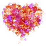 влюбленность пузыря Стоковое Изображение