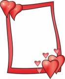 влюбленность рамки Стоковое Изображение RF