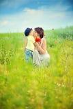 Влюбленность родителя Стоковое Изображение