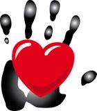 влюбленность руки Стоковая Фотография RF