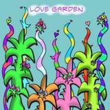 влюбленность сада Стоковое Изображение RF