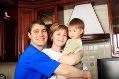влюбленность семьи Стоковая Фотография