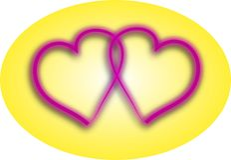 влюбленность сердец пар иллюстрация вектора