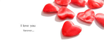 влюбленность сердец состава предпосылки Стоковое Изображение