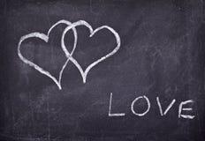 влюбленность сердец Стоковая Фотография