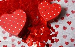 влюбленность сердец Стоковые Изображения RF