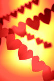 влюбленность сердец Стоковые Фото