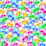 влюбленность сердец иллюстрация вектора