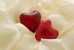 влюбленность сердец Стоковое фото RF
