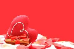 влюбленность сердца принципиальной схемы Стоковые Фотографии RF