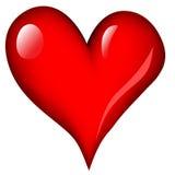 влюбленность сердца Стоковые Изображения