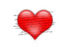 влюбленность сердца Стоковые Фото