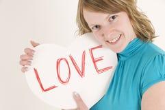 влюбленность сердца Стоковое Фото