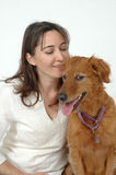 влюбленность собаки моя Стоковая Фотография RF