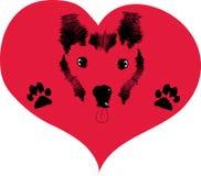 влюбленность собак Стоковые Изображения RF