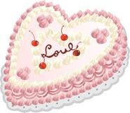 влюбленность торта Стоковое фото RF
