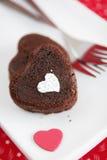 влюбленность тортов Стоковая Фотография RF