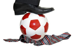 влюбленность футбола i Стоковые Изображения RF