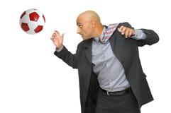 влюбленность футбола i Стоковая Фотография RF