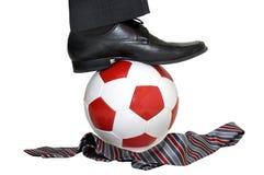 влюбленность футбола i Стоковые Фотографии RF