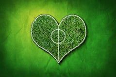 влюбленность футбола i Стоковые Изображения
