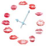 влюбленность часов Стоковые Изображения RF