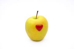 влюбленность яблока Стоковое Изображение RF