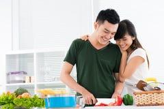 Влюбленность для еды Стоковые Фотографии RF