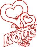 влюбленность 01 сердца Стоковое Фото