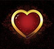 влюбленность 02 heart02 Иллюстрация вектора