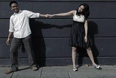 влюбленность 2 пар Стоковое Изображение RF