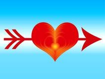 влюбленность иллюстрация вектора