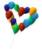 влюбленность ballons Стоковое фото RF