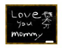 влюбленность chalkboard Стоковое Фото