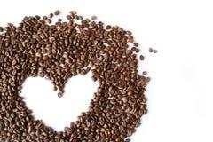 влюбленность coffe Стоковые Изображения RF