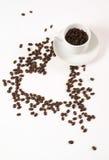 влюбленность coffe i стоковые фотографии rf