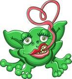 влюбленность froggy иллюстрация вектора