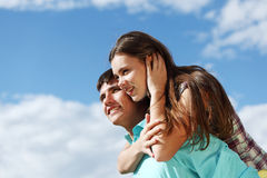 влюбленность hug стоковые изображения rf