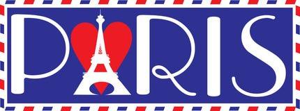 влюбленность paris иллюстрация штока
