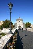 влюбленность rome замков Стоковые Фото