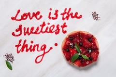 Влюбленность swetest вещь Стоковые Изображения
