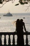 влюбленныеся пары Стоковое Фото