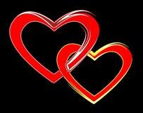 влюбленныеся пары Стоковое Изображение RF