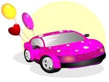 влюбленныйся автомобиль бесплатная иллюстрация