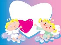 влюбленныйся ангел Стоковые Изображения RF
