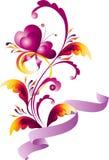 влюбленныйся цветок иллюстрация штока
