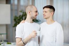 Влюбчивые парни Стоковое Изображение RF