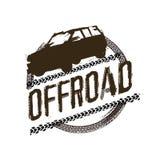 Внедорожное изображение логотипа Стоковые Изображения RF