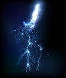 Внезапная молния Стоковое Изображение RF