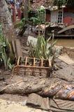 Внезапное наводнение бедствия Индонезии - Garut 005 Стоковая Фотография RF
